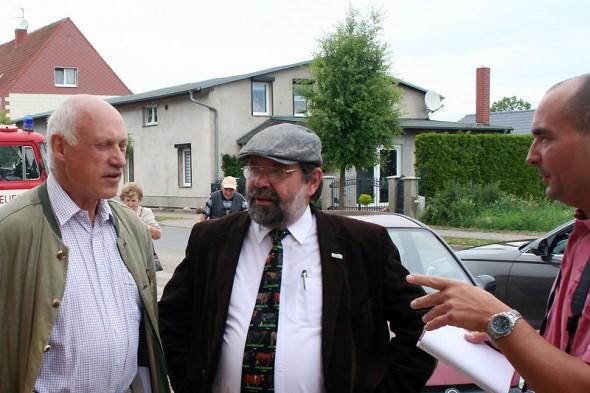 Begrüßung des Landrates Dietmar Schulze